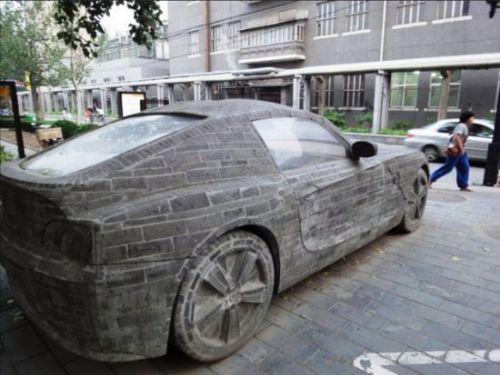 BMW Z4 de ladrillos (3)