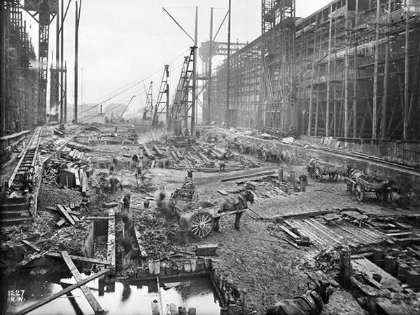 Fotos construccion Titanic (2)