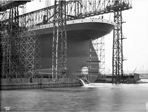 Fotos construccion Titanic (1)