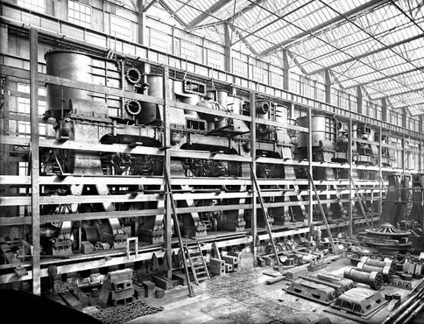 Fotos construccion Titanic (3)