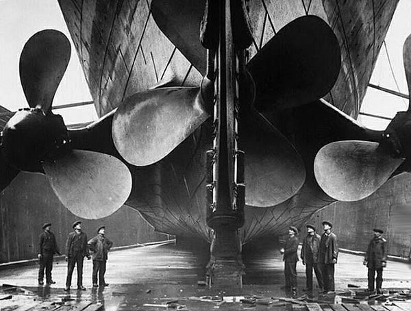 Fotos construccion Titanic (14)