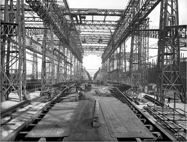 Fotos construccion Titanic (15)