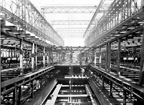 Fotos construccion Titanic (32)
