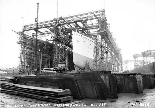 Fotos construccion Titanic (31)