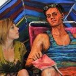 Pinturas realistas de Alexa Meade
