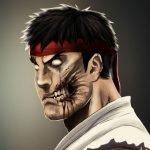 Personajes ilustrados versión zombi