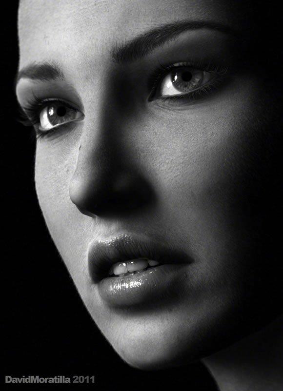 Retratos + Arte digital David Moratilla (1)