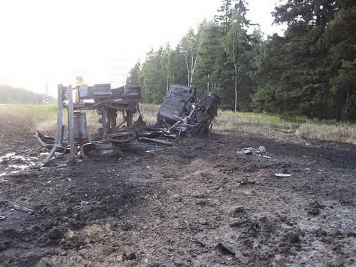 Increíble accidente de BMW en Rusia (4)