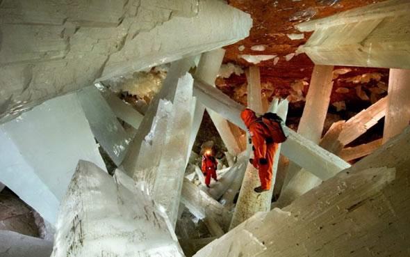 Cuevas de Naica con cristales gigantes (10)