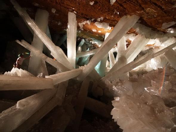 Cuevas de Naica con cristales gigantes (9)