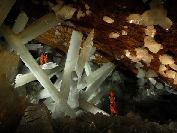 Cuevas de Naica con cristales gigantes (8)