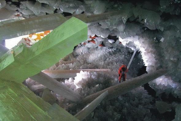 Cuevas de Naica con cristales gigantes (6)