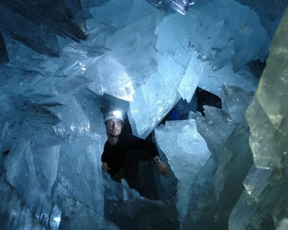 Cuevas de Naica con cristales gigantes (5)