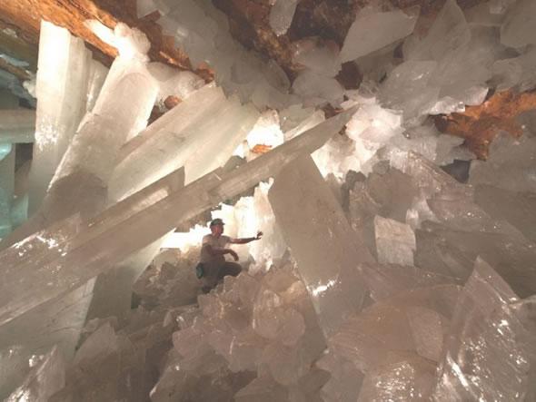 Cuevas de Naica con cristales gigantes (4)