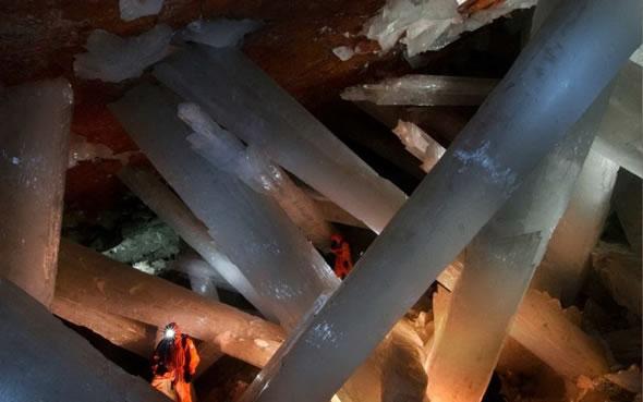 Cuevas de Naica con cristales gigantes (3)