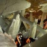 Cuevas de Naica con cristales gigantes