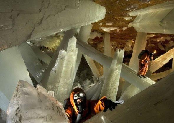 Cuevas de Naica con cristales gigantes (2)