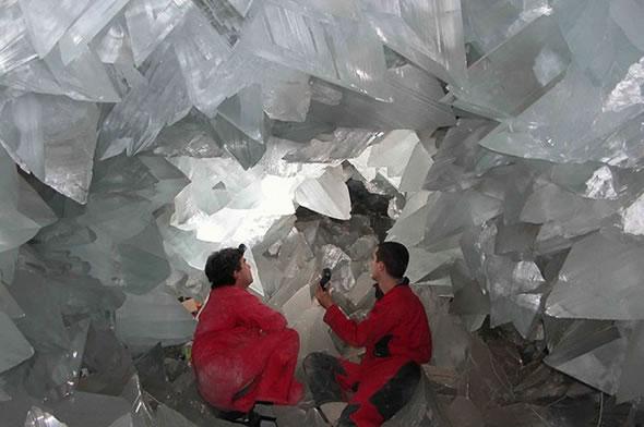 Cuevas de Naica con cristales gigantes (1)