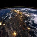 Time lapse de la tierra desde el espacio