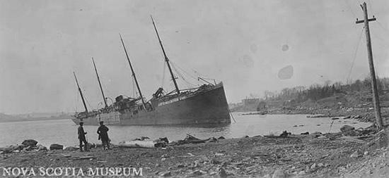 Explosión en Halifax