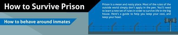 Cómo sobrevivir en prisión