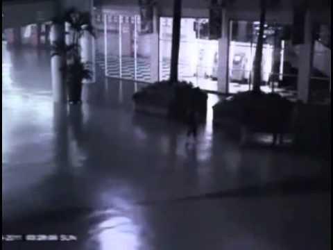 Ángel captado en video