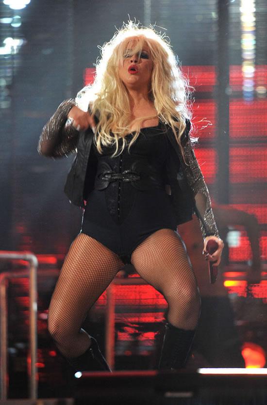 El cambio radical de Christina Aguilera (9)