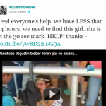 Justin Bieber cumple el sueño de la niña llorona