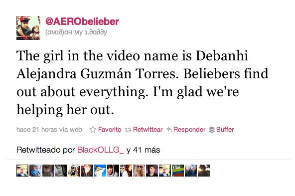 Justin Bieber cumple el sueño de la niña (1)