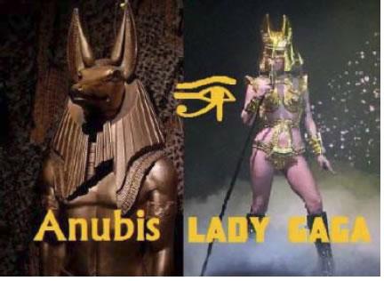 Lady Gaga anubis