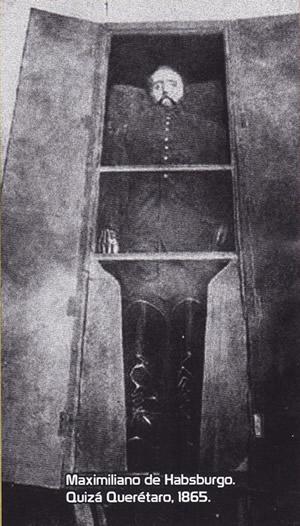 Maximiliano de Hasburgo muerto
