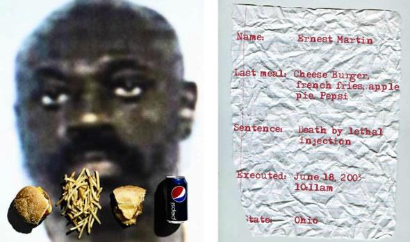 La ultima comida de los condenados (3)