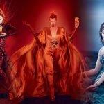 Milla Jovovich en el calendario de Campari 2012