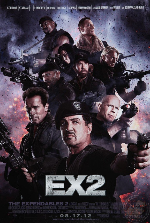 poster expendables 2