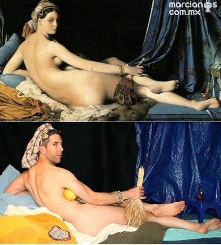 """""""Grande Odalisque""""- Jean Auguste Dominique Ingres"""