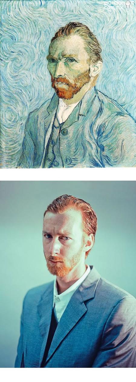"""""""Autorretrato 1889″ - Vincent van Gogh"""