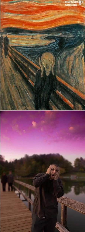 """The Scream"" - Edvard Munch"