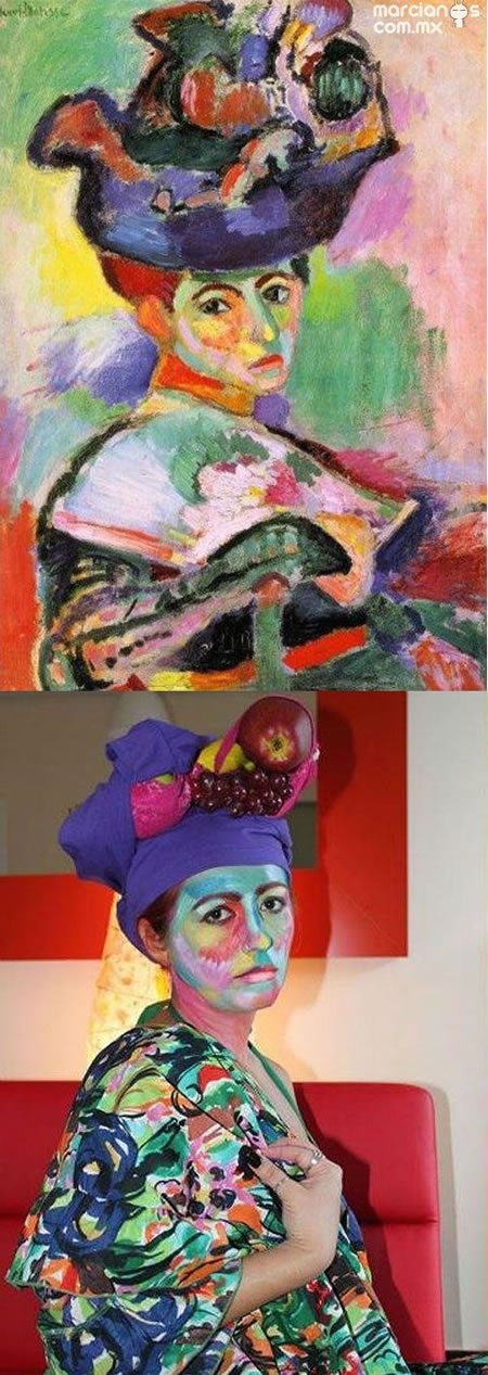 """Femme au chapeau"" - Matisse"