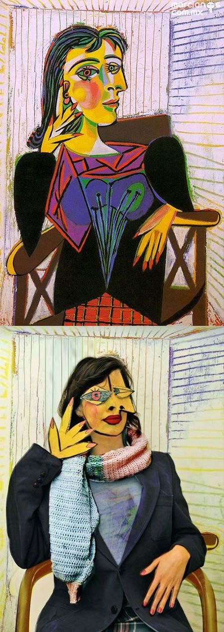 """Dora Maar Seated"" - Picasso"