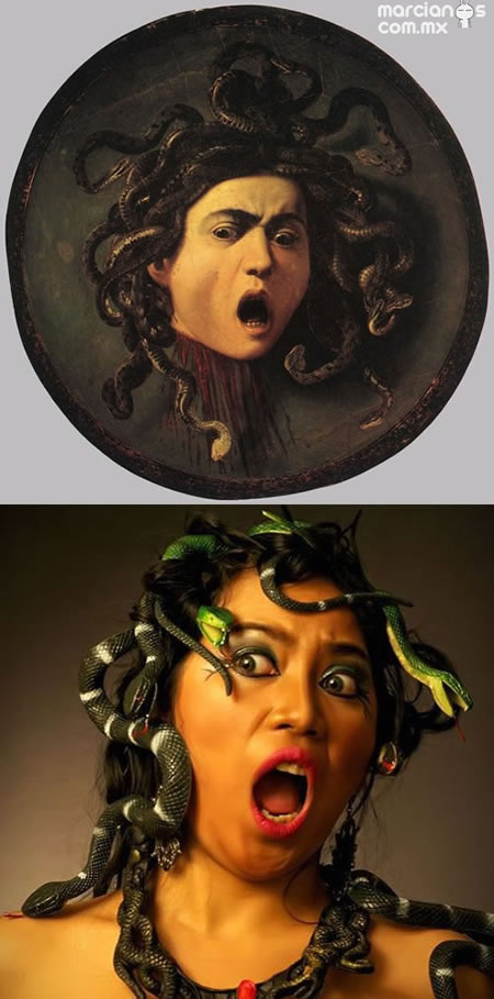 """Medusa"" - Caravaggio"