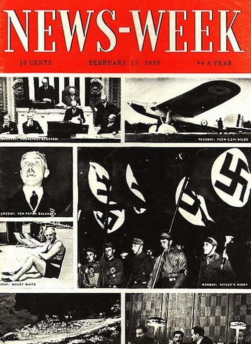 La primera portada de las revistas News week