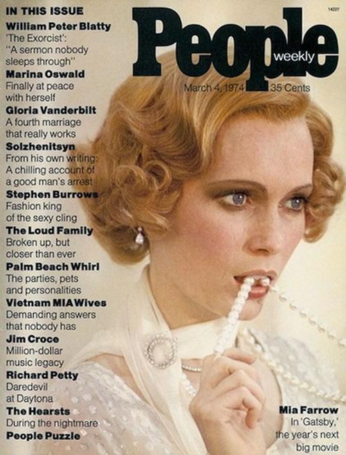 La primera portada de las revistas People