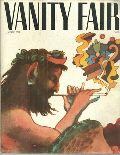 La primera portada de las revistas Vanity Fair