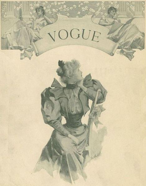 La primera portada de las revistas Vogue