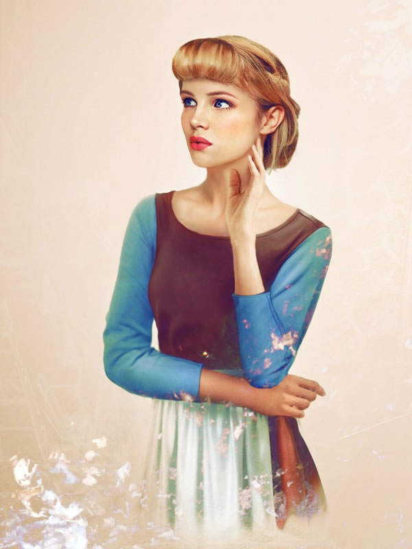 Las Princesas Disney cobran vida (12)