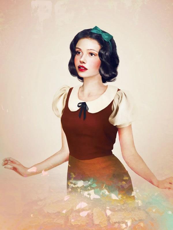 Las Princesas Disney cobran vida (11)