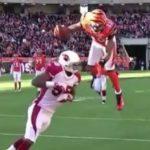 Front Flip y Touchdown – Jerome Simpson
