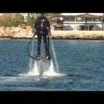 Flyboard, volando sobre agua
