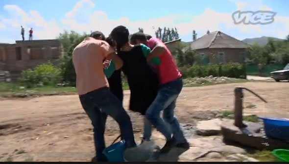 Secuestro de novias en Kyrgyzstan