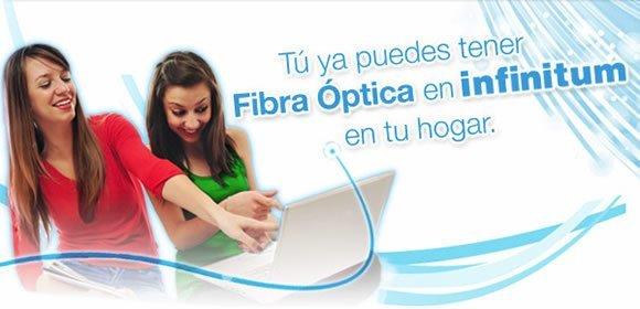 telmex infinitum fibra optica